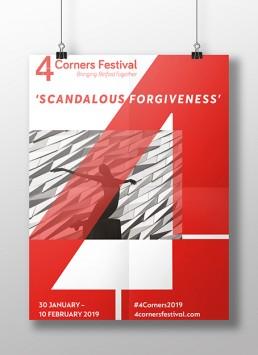 4 Corners poster Design