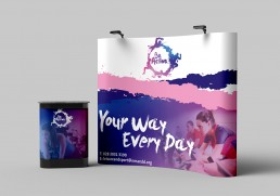 Branding exhibition design