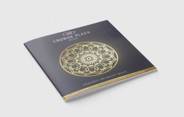 Crowne Plaza Christmas Brochure Design