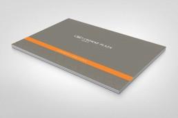 Crowne Plaza Conference brochure design cover