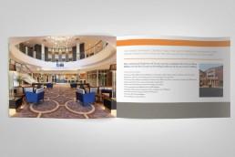 Crowne Plaza Conference brochure design spread