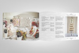Crowne Plaza wedding brochure design