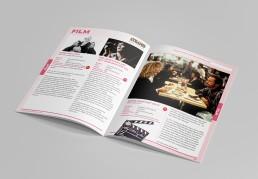 branding eastside arts brochure design