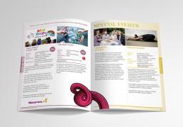 branding Eastside arts programme design