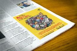 Eastside Arts newspaper ad