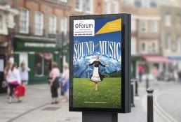 Millennium Forum Advertising Design