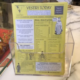 vestry flyer design