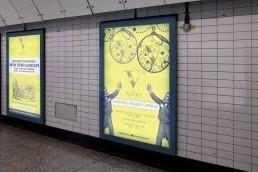 Vestry 6 sheet advertising