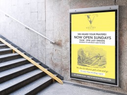 Vestry advertising campaign