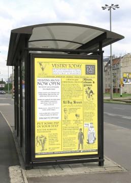 6 sheet advertisement campaign
